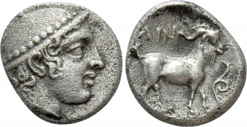 THRACE. Ainos. Diobol (Circa 427/6-425/4 BC). 