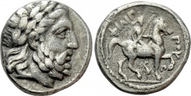 KINGS OF MACEDON. Philip II (359-336 BC). Tetradrachm. Amphipolis