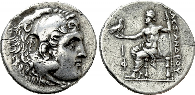 KINGS OF MACEDON. Alexander III 'the Great' (336-323 BC). Tetradrachm. Phaselis....