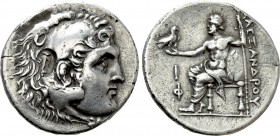 KINGS OF MACEDON. Alexander III 'the Great' (336-323 BC). Tetradrachm. Phaselis. Dated CY 10 (209/8 BC)