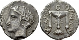 ILLYRIA. Damastion. Tetradrachm (Circa 380-365/0 BC)