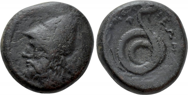 THESSALY. Homolion. Trichalkon (Circa 350 BC). 