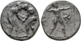 PAMPHYLIA. Aspendos. Stater (Circa 420-370 BC)
