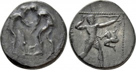 PAMPHYLIA. Aspendos. Stater (Circa 380/75-330/25 BC)