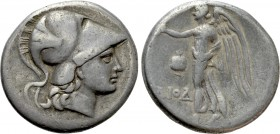 PAMPHYLIA. Side. Tetradrachm (Circa 205-100 BC). Diod-, magistrate