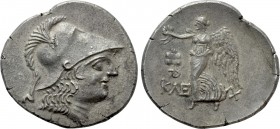 PAMPHYLIA. Side. Tetradrachm (Circa 183-175 BC). Kleuchares, magistrate