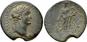 CILICIA. Irenopolis-Neronias. Domitian (81-96). Ae Assarion. Dated CY 42 (93/4)