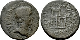 CILICIA. Olba. M. Antonius Polemo (High priest, circa 17-36). Ae. Dated year 11 (28/9)
