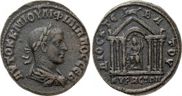 CYRRHESTICA. Cyrrhus. Philip I the Arab (244-249). Ae