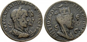 SELEUCIS & PIERIA. Antioch. Philip I 'the Arab', with Otacilia Severa (244-249). Ae