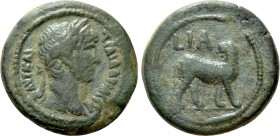 EGYPT. Alexandria. Trajan (98-117). Ae. Dated RY 11 (107/108)