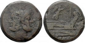 ANONYMOUS. As (211-208 BC). Mint in Central Italy