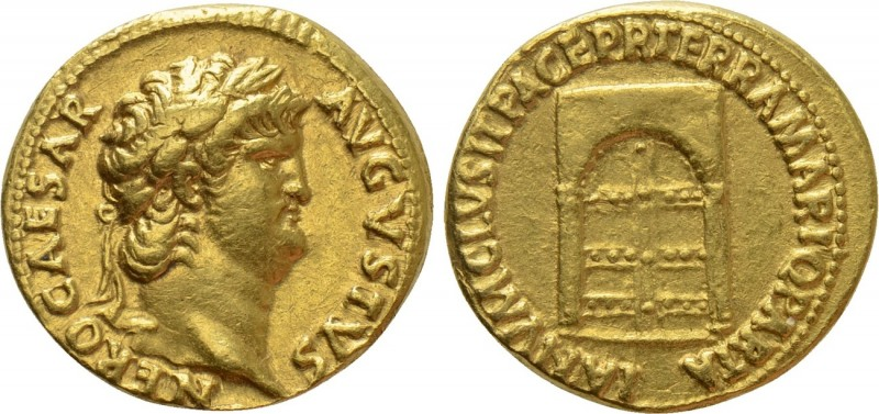 NERO (54-68). Aureus. Rome. 
