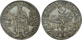 AUSTRIA. Holy Roman Empire. Maximilian III. Grandmaster of the Teutonic Order (1590-1618) Taler (1603). Hall
