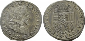 FRANCE. Lorraine. Henri (1608-1624). Teston. Nancy