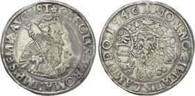GERMANY. Kempten. Karl V (1530-1556). Taler (1546)