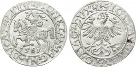 LITHUANIA. Sigismund August of Poland (1544-1572). Half Grosh (1561)