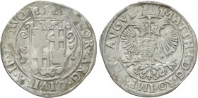 NETHERLANDS. Zwolle. In the name of Matthias I (1612-1619). 28 Stuiver or Gulden
