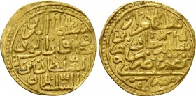 OTTOMAN EMPIRE. Murad III (AH 982-1003 / 1574-1595 AD). GOLD Sultani. Misr (Cairo) mint. Dated AH 982 (1574/5 AD)