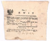 Kwit z podatku podymnego 1792 