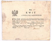 Kwit z podatku podymnego 1795 
