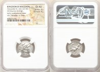 MACEDONIAN KINGDOM. Alexander III the Great (336-323 BC). AR drachm (18mm, 4.31 gm, 2h). NGC Choice AU 4/5 - 4/5. Posthumous issue of Abydus, ca. 310-...