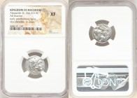 MACEDONIAN KINGDOM. Alexander III the Great (336-323 BC). AR drachm (17mm, 4h). NGC XF. Early posthumous issue of Lampsacus, ca. 310-301 BC. Head of H...