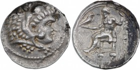 Kings of Macedon. Antigonos I Monophthalmos. As Strategos of Asia, 320-306/5 BC. AR Tetradrachm (29mm, 17.16g, 10h). In the name and types of Alexande...