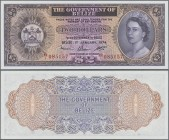 Belize: The Government of Belize 2 Dollars January 1st 1974, P.34a in perfect UNC condition.