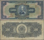 Brazil: República dos Estados Unidos do Brasil 500 Mil Reis ND(1931), P.92, great note with some rusty spots, lightly toned paper and several folds. C...