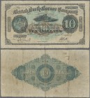 British North Borneo: The British North Borneo Company 10 Dollars December 1st 1926, P.5c, highly rare and very popular banknote, still great original...