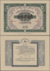 Burma: Union of Burma Independence Savings Certificates 100 Kyats 1944, Schwan-Boling 151, these were lottery bonds issued during the Japanese occupat...