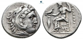 Kings of Macedon. Lampsakos. Antigonos I Monophthalmos 320-301 BC. In the name and types of Alexander III of Macedon. Struck circa 310-301 BC.. Drachm...