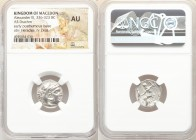 MACEDONIAN KINGDOM. Alexander III the Great (336-323 BC). AR drachm (17mm, 11h). NGC AU. Early posthumous issue of Abydus (?), ca. 310-301 BC. Head of...