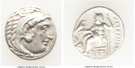 MACEDONIAN KINGDOM. Alexander III the Great (336-323 BC). AR drachm (17mm, 4.24 gm, 12h). VF. Posthumous issue of 'Colophon', ca. 310-301 BC. Head of ...