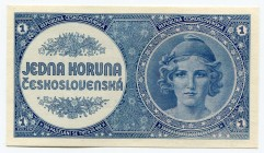 Bohemia & Moravia 1 Koruna 1946 (ND)