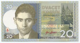 "Czech Republic 20 Korun 2019 Specimen ""Franz Kafka""