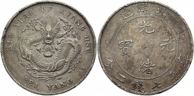 China Chihli 1 Dollar 1908