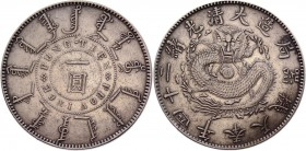 China Fiengtien 1 Dollar 1898