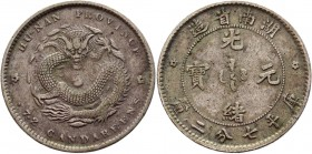 China Hupeh 10 Cents 1895