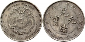 China Hupeh 20 Cents 1895