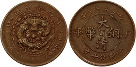 China Kiangnan 10 Cash 1906