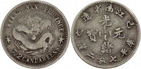 China Kiangnan 10 Cents 1899 Rare