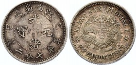 China Kiangnan 10 Cents 1905