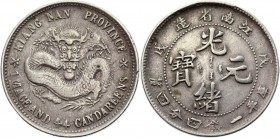 China Kiangnan 20 Cents 1898 RARE