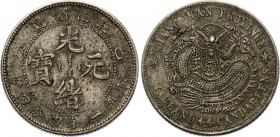 China Kiangnan 20 Cents 1899