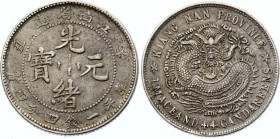 China Kiangnan 20 Cents 1901
