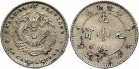 China Kwangtung 20 Cents 1920