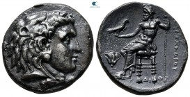 "Kings of Macedon. Memphis. Alexander III ""the Great"" 336-323 BC. Struck under Ptolemy I, circa 323-317 BC. Tetradrachm AR"