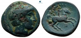 Kings of Macedon. Uncertain mint. Philip III Arrhidaeus 323-317 BC. Bronze Æ